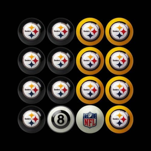 Nfl Billiard Ball Set Leon S Billiards Pittsburgh Wexford